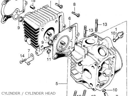 Honda C70m 1970 Usa parts list partsmanual partsfiche