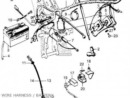 Honda C70M 1970 USA parts lists and schematics