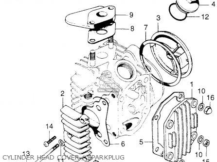 Honda C70m Honda 70 1970 Usa parts list partsmanual partsfiche