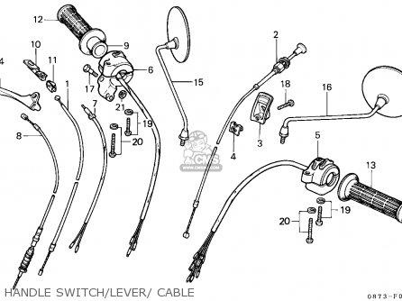 Honda C70z Cub 1982 (c) General Export / Mph parts list