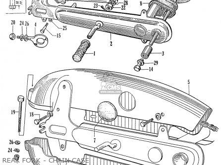 Honda C75 C76 CS76 1958 1959 1960 DREAM GENERAL EXPORT