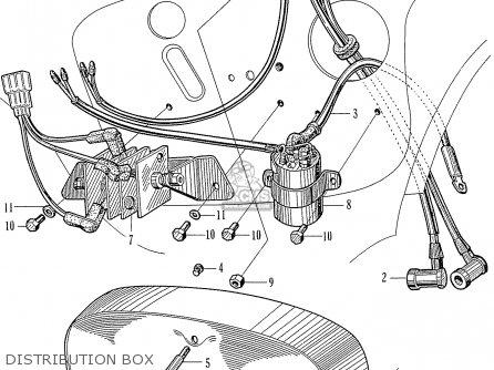 Honda C77 Dream parts list partsmanual partsfiche
