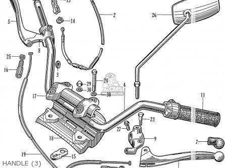 Honda C78 1960 1961 1962 1963 1964II 1964III DREAM (142592