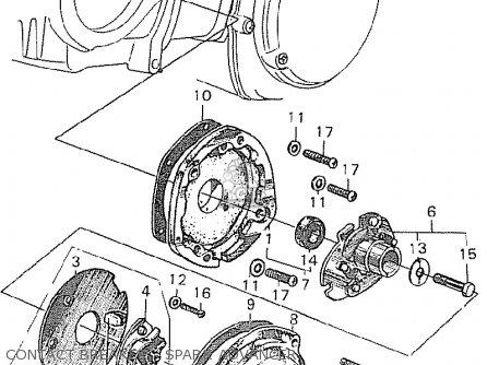 Honda C90 Cub 1968 1969 1970 Australia parts list
