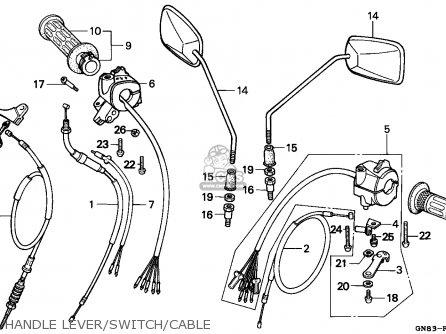 Honda C90 Cub 1992 (n) England parts list partsmanual