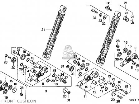 Honda C90 CUB 1992 (N) ENGLAND / SSW parts lists and