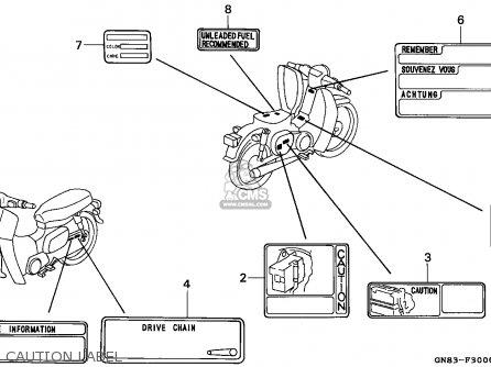 Honda C90 Cub 1993 Greece parts list partsmanual partsfiche