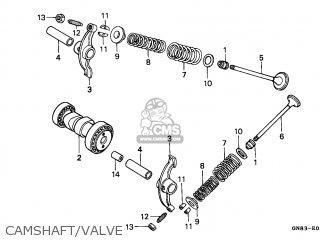 Honda C90 Cub 1993 (p) Greece parts list partsmanual