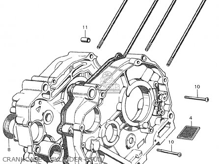 Honda C90 Cub General Export / Single Seat parts list