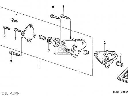 Honda C90M CUB 1993 (P) ENGLAND / SEL parts lists and