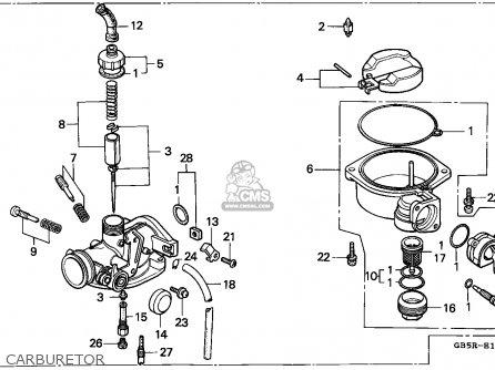 Honda C90st Cub 1994 (r) Mexico / Csw Ss parts list