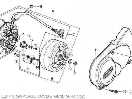 Honda C90z Cub 1982 (c) General Export / Mph parts list