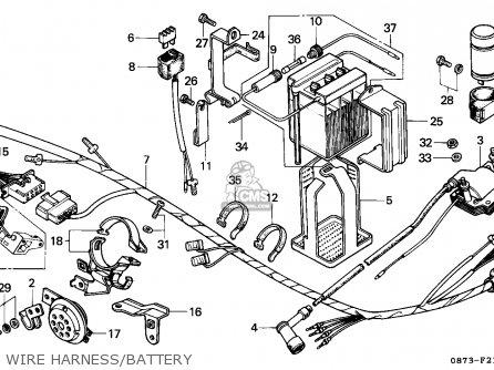 Honda C90z Cub 1992 Mexico / Kph Mk Ss parts list