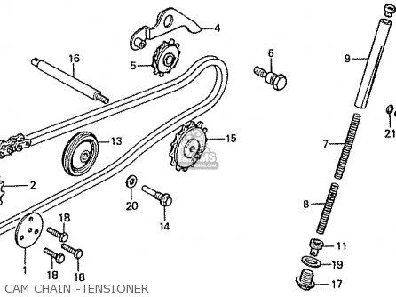 Honda C90zc (general Export) parts list partsmanual partsfiche