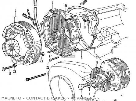 Honda C92 Cs92 Benly Touring General Export (1320003