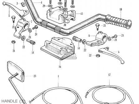 Honda C95 BENLY GENERAL EXPORT (1320003) parts lists and