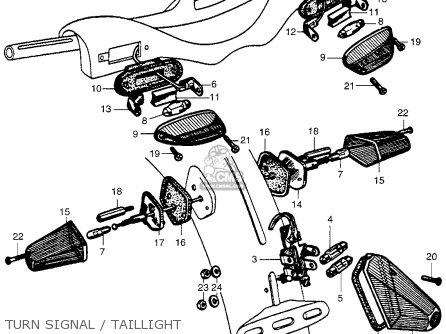 Honda CA100 1962 USA parts lists and schematics