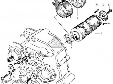 Honda Ca100 Honda 50 1962 Usa parts list partsmanual