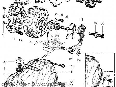Honda CA102 1960 USA parts lists and schematics