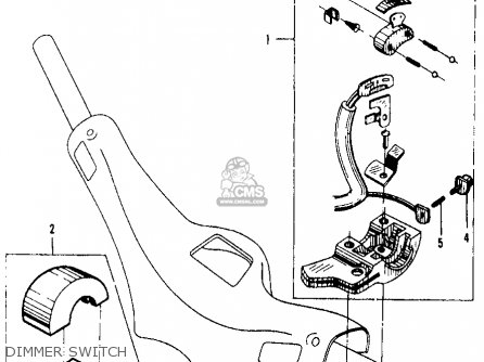 Honda Ca105t Trail 55 1963 Usa parts list partsmanual