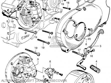 Honda Ca110 1962 Usa parts list partsmanual partsfiche