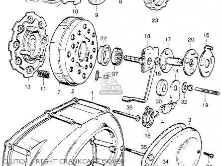 Honda Ca110 1962 Usa parts list partsmanual partsfiche