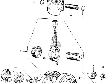 Honda CA110 1962 USA parts lists and schematics