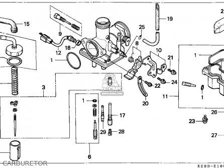 Keihin Pd Carburetor Diagram, Keihin, Free Engine Image