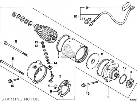 Honda CA125 REBEL 1995 (S) SWITZERLAND / KPH parts lists