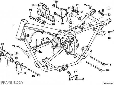 Honda CA125 REBEL 1996 (T) GERMANY / KPH parts lists and