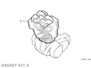 Honda CA125 REBEL 1997 (V) GERMANY / KPH parts lists and