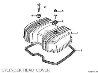 Honda CA125 REBEL 1999 (X) ENGLAND / MKH parts lists and