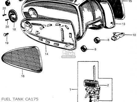 1967 honda ct90 wiring diagram blank prokaryotic cell ca175 | get free image about