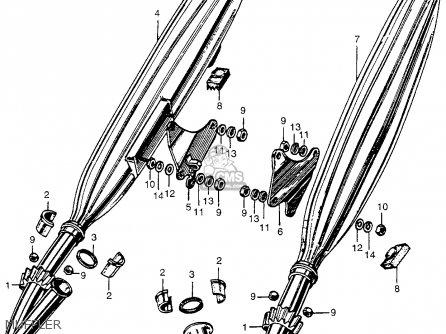 Honda CA175K0 1968 USA parts lists and schematics