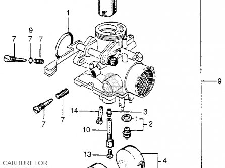 Honda Ca175k3 1969 Usa parts list partsmanual partsfiche