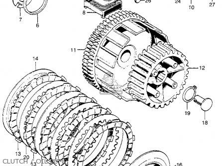 Honda Ca175k3 1969 Usa parts list partsmanual partsfiche