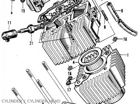 Honda Ca200 1963 Usa parts list partsmanual partsfiche