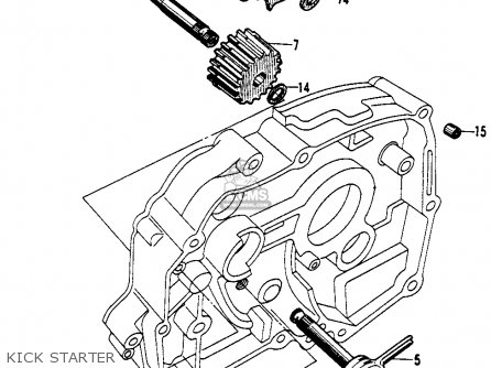 Honda CA200 1963 USA parts lists and schematics