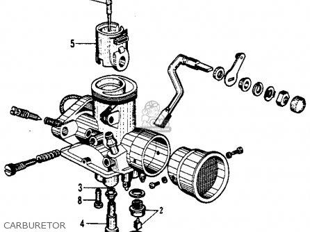 Honda c200 carburator