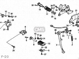 Honda CA250T REBEL 1996 (T) JAPAN MC13-190 parts lists and