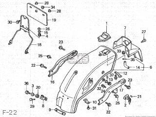 Honda CA50 JAZZ 1986 (G) JAPAN parts lists and schematics