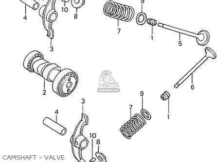 Honda Ca50g (japan) parts list partsmanual partsfiche