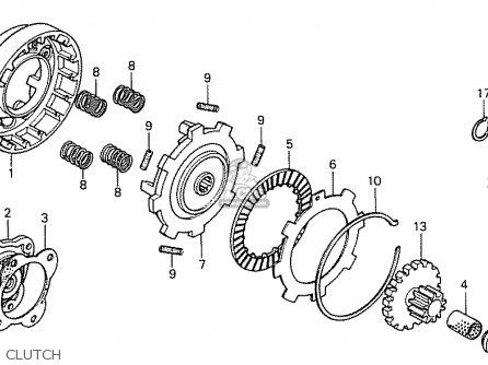 Honda CA50J JAZZ JAPAN (11GS3GJ5) parts lists and schematics