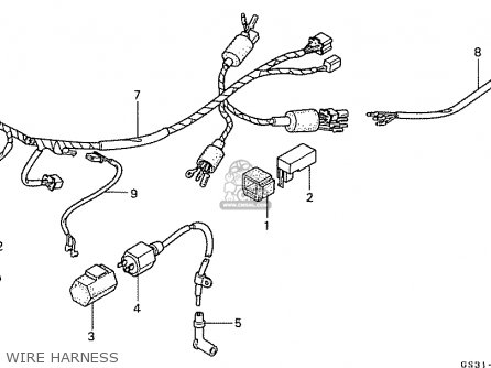 Honda CA50LG JAZZ JAPAN (11GS3GJ5) parts lists and schematics