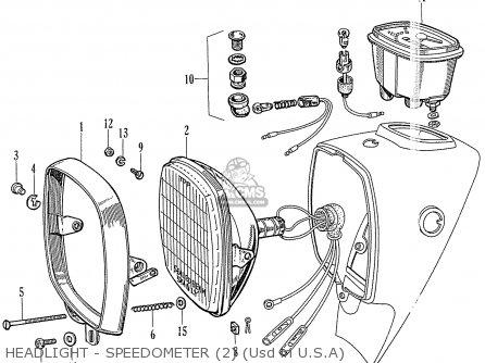Honda CA72 DREAM 1960 1961 1962 1963 1964I 1964II USA