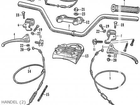Honda Ca72 Dream Touring 250 Usa parts list partsmanual