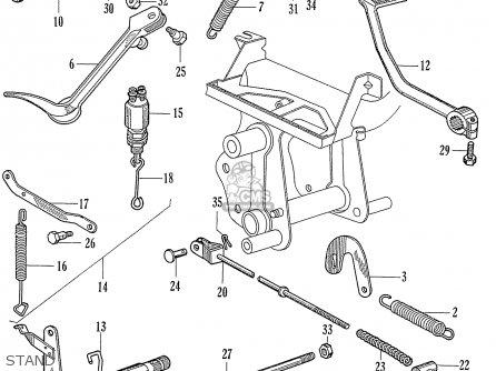 Honda Ca77 Dream Touring 305 Usa parts list partsmanual