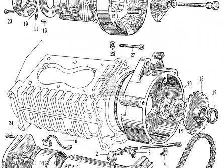 Honda Ca95 Benly Touring 150 Usa parts list partsmanual