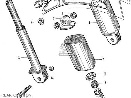 Honda Ca95 Benly Usa (1320003) parts list partsmanual