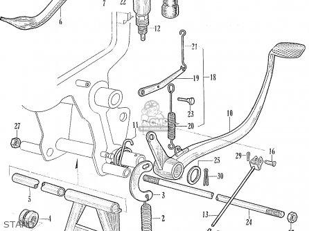 Honda CA95 BENLY USA (1320003) parts lists and schematics